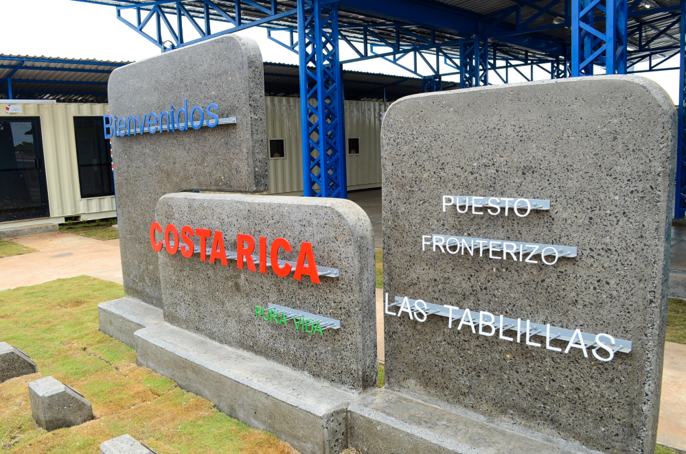 Neuer Grenzübergang zwischen Costa Rica und Nicaragua in Alajuela